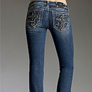 "Miss Me"" Seville"" Stretch Straight Leg Jean"